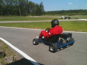DIY Karting, Summer 2013