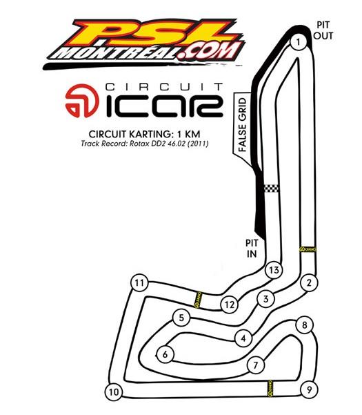 OGKC Race #5 Information – Le Circuit ICAR (PSL Karting)